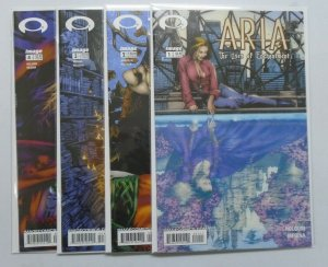 Aria The Uses of Enchantment set:#1-4 8.5 VF+ (2003)