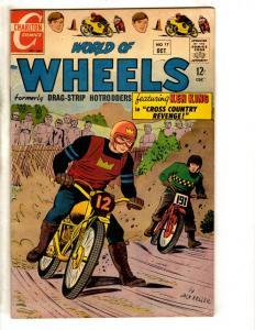 World Of Wheels # 17 FN/VF Charlton Comic Book Ken King Jack Keller  FH2
