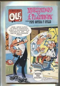 Coleccion Ole numero 245: Mortadelo y Filemon: Nacieron para detectives + Pep...