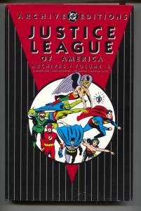 Justice League Of America Archives-Vol 6-Golden Age Color Reprints-Hardcover