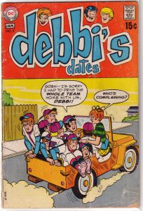 Debbi's Dates # 5 FR/GD (1969, DC)