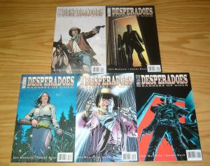 Desperadoes: Banners of Gold #1-5 VF/NM complete series JEFF MARIOTTE western