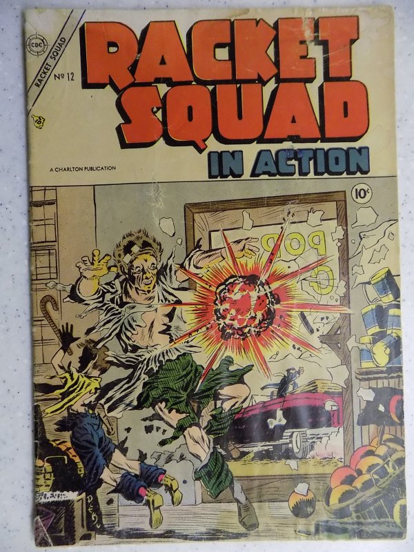 Racket Squad in Action #12 (1954)