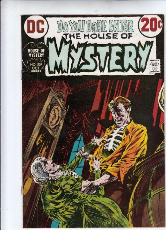 House of Mystery #207 (Oct-72) VF/NM High-Grade
