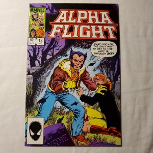 Alpha Flight 13 Near Mint- Story and art by John Byrne