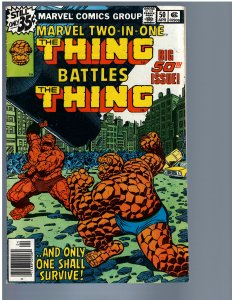 Marvel Two-in-One #50 (1979) VF