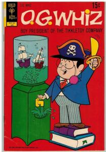OG WHIZ 6 VG+ May 1972 COMICS BOOK