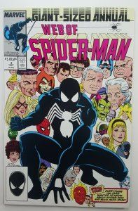 Web of Spider-man Annual 3 | Black Costume | Marvel | 1987 | NM