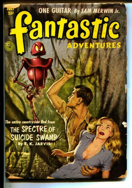 Fantastic Adventures-Pulps-7/1952-John Jakes-E.K. Jarvis