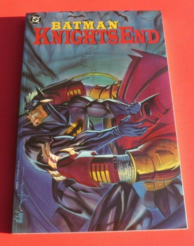 Batman Knights End TPB NM 1st Print 1994 DC Comics Robin Alan Grant Dark Knight