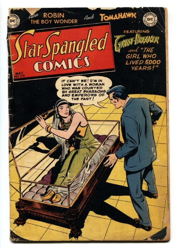 Star Spangled 128 1952 Dc Horror Sci Fi Issue Tomahawk Comic Book