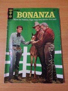Bonanza #23 ~ VERY GOOD - FINE FN ~ (1967, Western Publishing Comics)