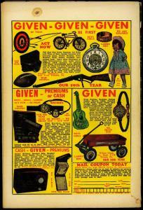 Mystic Comics #30 1954- Skeleton cover- Atlas Horror golden age VG