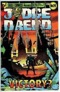 Judge Dredd #24 (1983 Eagle) - 8.5 VF+ *The Apocalypse War*