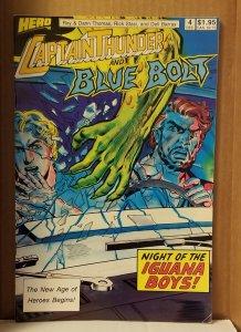 Captain Thunder and Blue Bolt #4 (1987)