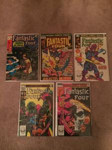 High Grade Fantastic Four Lot. Silver Age, Bronze Age Comics.