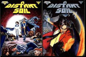 DISTANT SOIL 1 (1983) Collen Doran fantasy classic x 5