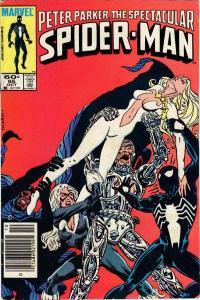 Spectacular Spider-Man (1976 series) #95, VF+ (Stock photo)