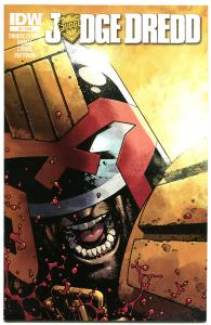 JUDGE DREDD #6, NM, IDW,  2012, Sci-fi, Police, I am the Law, more in store