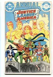 Justice League of America Annual #2 comic book 1984 1st VIBE and GYPSY