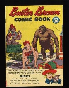 Buster Brown #36 FN 6.0 1954