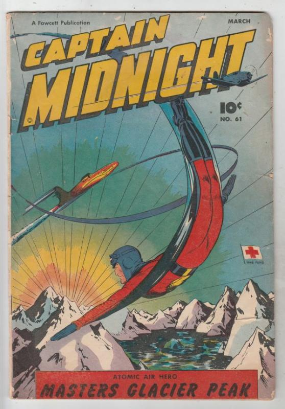 Captain Midnight #61 (Mar-48) VG+ Affordable-Grade Captian Midnight