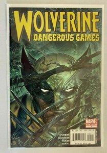 Wolverine Dangerous Games #1 6.0 FN (2008)