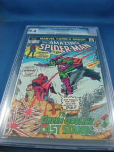 AMAZING SPIDERMAN 122 CGC 9.4 DEATH OF GREEN GOBLIN KEY 1973