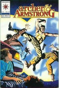 Archer & Armstrong (1992 series) #23, VF- (Stock photo)