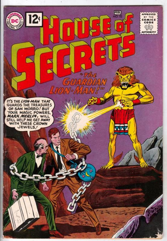 House of Secrets #52 (Feb-62) FN/VF+ High-Grade