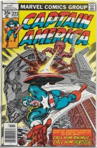 Captain America   vol. 1   #223 FN Gerber/Sal Busema, Animus
