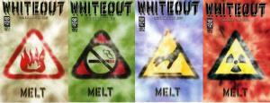 WHITEOUT MELT (1999 ONI) 1-4  Rucka & Lieber  COMPLETE!
