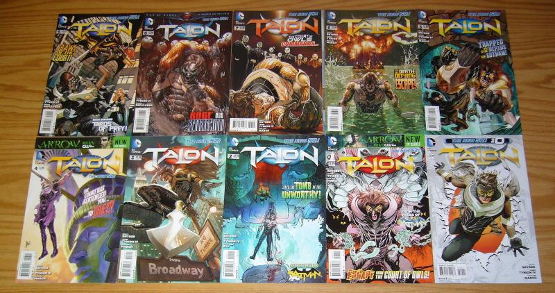 Talon #0 & 1-17 VF/NM complete series - scott snyder - court of owls - new 52