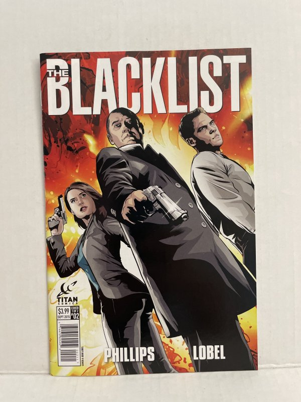Blacklist #2 (2015) Unlimited Combined Shipping