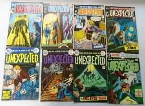 DC Bronze Age Horror Unexpected Comic Lot, From:#125-207, 20 Diff. Average 5.0