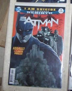 Batman # 10 JAN 2017  DC UNIVERSE REBIRTH  l am  suicide PT1