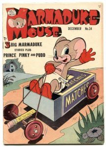 Marmaduke Mouse #34 1952- Golden Age Funny Animals FN