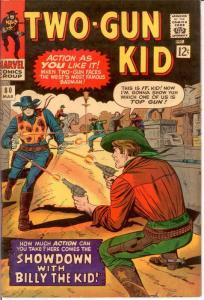 TWO GUN KID 80 F-VF Mar. 1966 COMICS BOOK