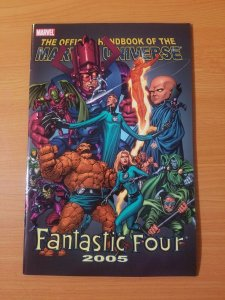 Fantastic Four Official Handbook 2005 ~ NEAR MINT NM ~ Marvel Comics