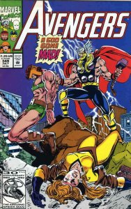 Avengers, The #349 VF; Marvel | save on shipping - details inside