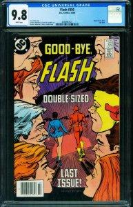 Flash #350 CGC 9.8  Last issue- DC Comics 1985 2038907021
