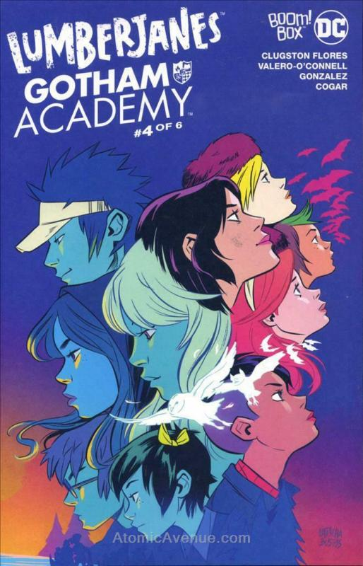 Lumberjanes/Gotham Academy #4 VF/NM; Boom! | save on shipping - details inside
