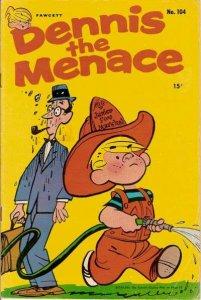 Dennis the Menace (1953 series) #104, Good+ (Stock photo)