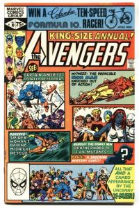 AVENGERS ANNUAL #10 1ST appearance of ROUGE MARVEL comic book 1981