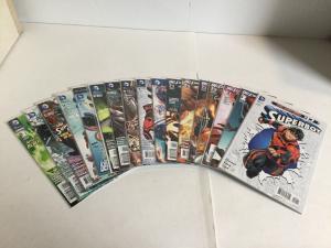 Superboy 0 1-16 Annual 1 Lot Set Run Nm Near Mint DC Comics New 52 A15