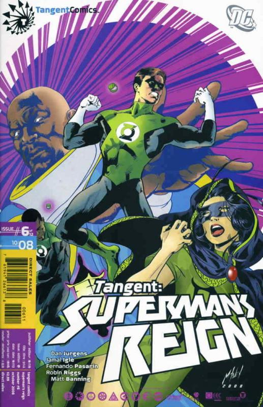Tangent: Superman's Reign #6 FN; DC | save on shipping - details inside