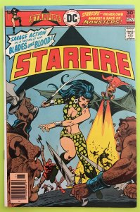 STARFIRE 2 SAVAGE ACTION DC 1976