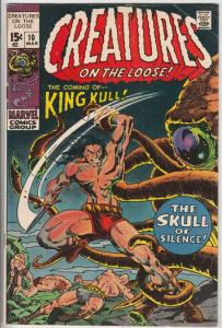 Creatures on the Loose #10 (Mar-71) FN/VF Mid-High-Grade King Kull
