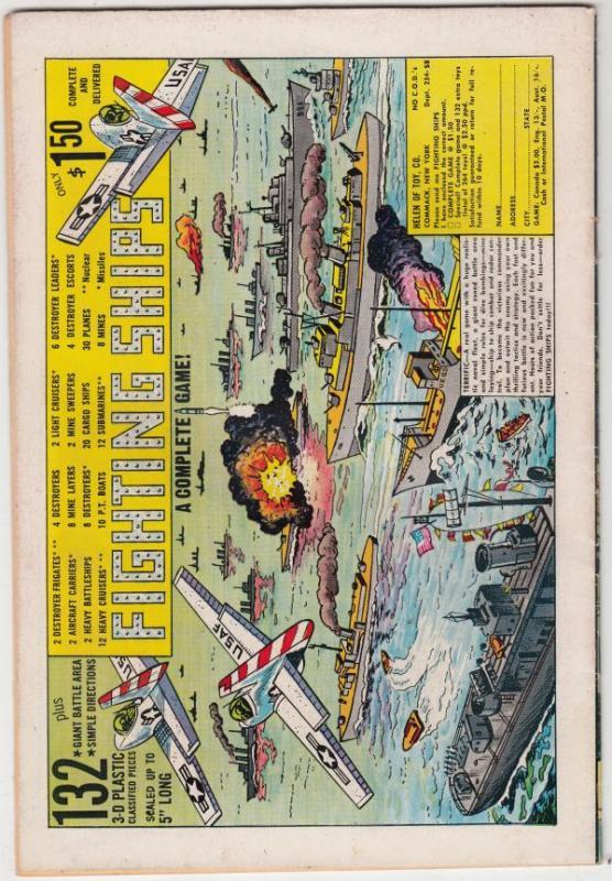 Star Spangled War Stories #121 (Jul-65) FN/VF Mid-High-Grade Dinosaur