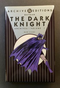 ARCHIVE EDITIONS BATMAN: THE DARK KNIGHT VOL.1 HARD COVER 1ST PRINT